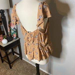 American Eagle Outfitters Tops - American Eagle Ditsy Country Flower Top NWT Sz XXL